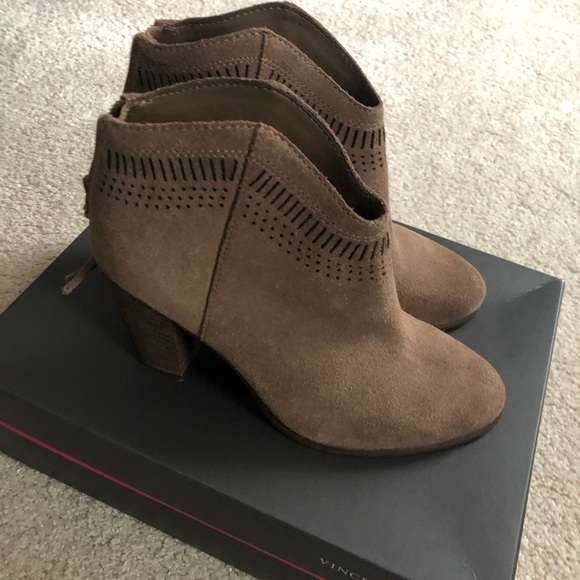 Vince Camuto Shoes | Nib Fetter Booties